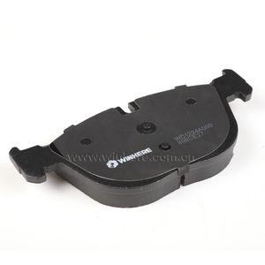 Environment-friendly High Quality Semi-metallic Low-steel Ceramic Brake Pad