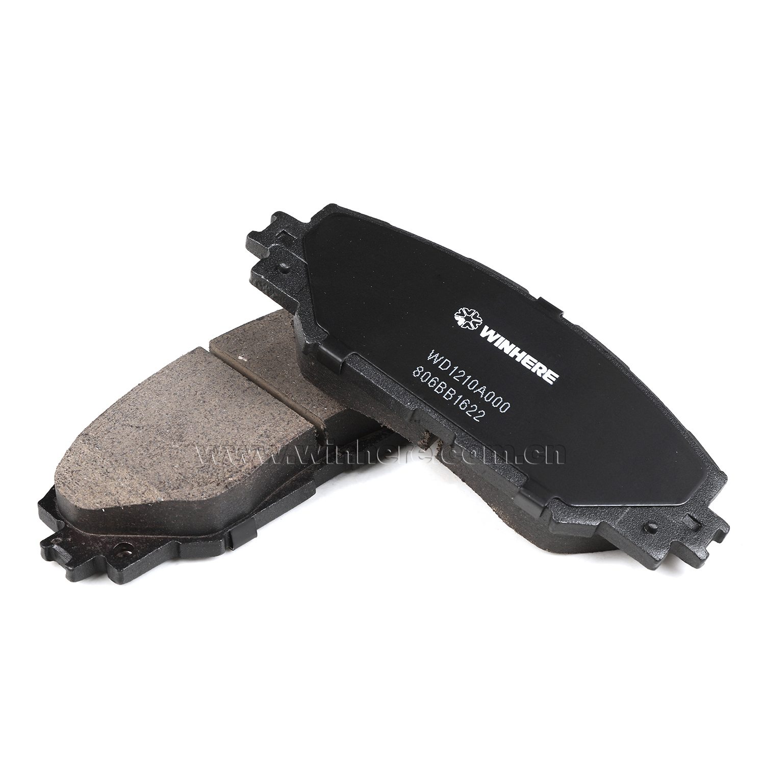 High Quality Friction Material Brake Pad Semi-metallic Low-steel Ceramic ECE R90