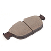 Front Brake Pad for PEUGEOT with Backing Plate