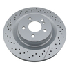 Brake Disc for OE#A1714230212/1714230212 Rear Ventilated